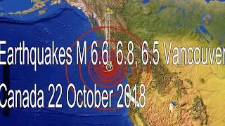 Earthquake CANADA 2018 22 AT 2 :02 AM