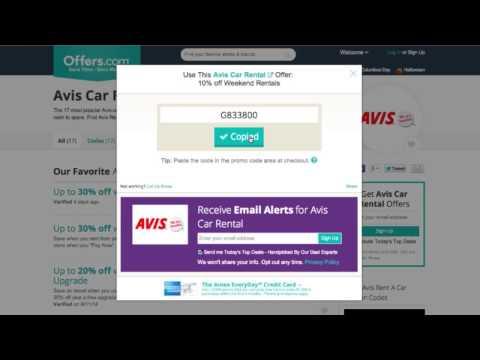 Avis Car Rental Coupon Codes 2014 - Saving Money With Offers.com