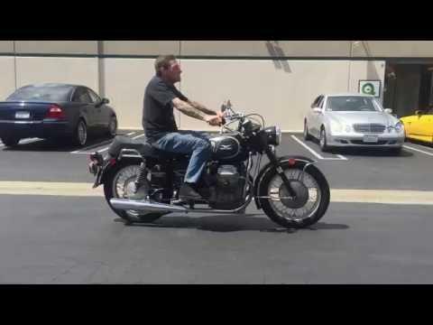 Steve test riding Jerry S's Eldorado Civilian