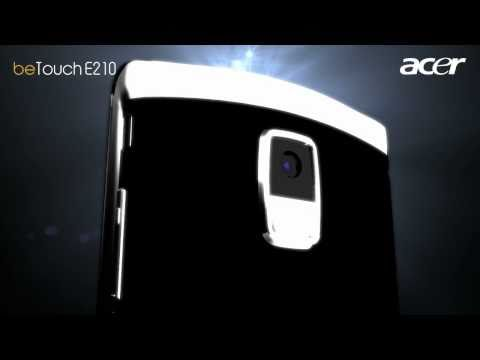 The Master in Communication: Acer beTouch E210