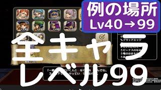 【DQH2】全キャラカンスト レベル99 例のあの場所でレベル上げ thumbnail