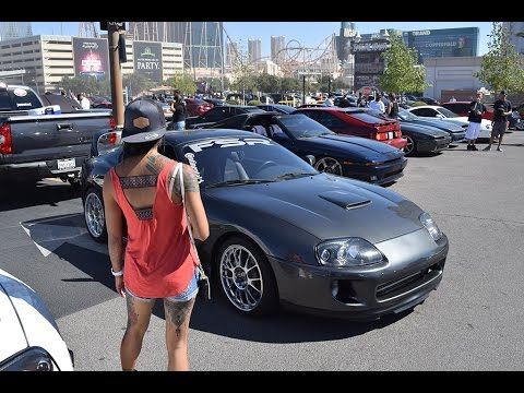 Supras in Vegas 2016, dyno, drifting, the works!