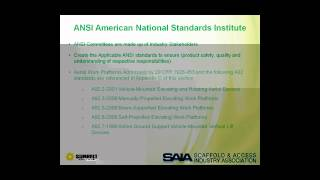 SAF-T Conference Webinar: Best Practices in Aerial Lift Training