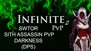 SWTOR! Sith Assassin! Darkness! DPS! PVP! #3