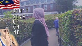 SHILA AMZAH - FALLING IN LOVE WITH YOU - LYRICS VID | INDIAN REACTS TO MALAYSIAN VIDEO | Aalu Fries