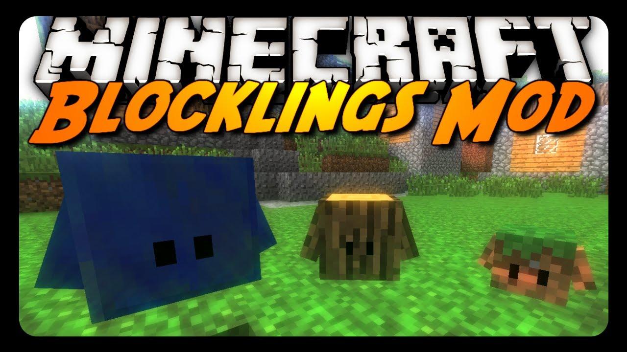 minecraft blocklings mod 1.8