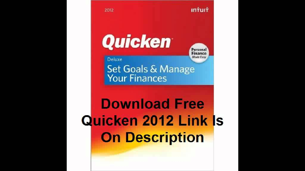 Quicken home and business 2012 download free