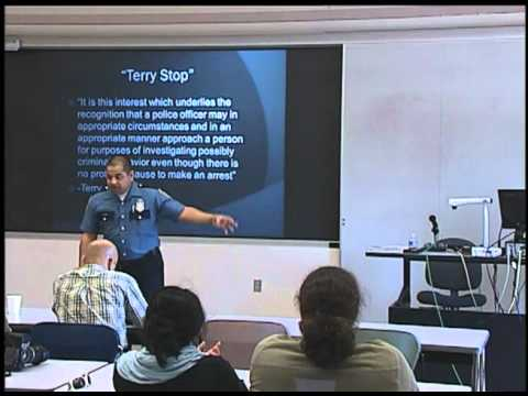 Constitutional Law by Officer Adrian Z. Diaz ( Law enforcement workshop by Seattle Police Dept.)