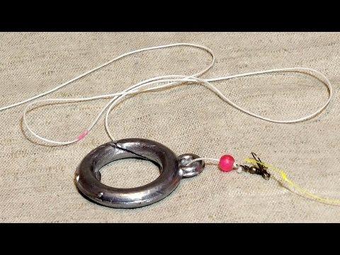 как сделать поводки для ловли леща на кольцо