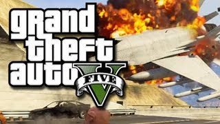 gta 5 online stunts flying jets through tunnels gta v fails and funny moments