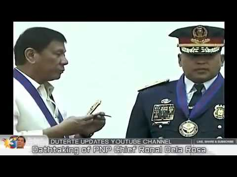 OATHTAKING OF PNP CHIEF RONALD 'BATO' DELA ROSA in CAMP CRAME July 1, 2016