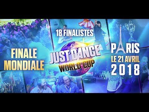 FINALE MONDIALE de la Just Dance World Cup 2018 !!