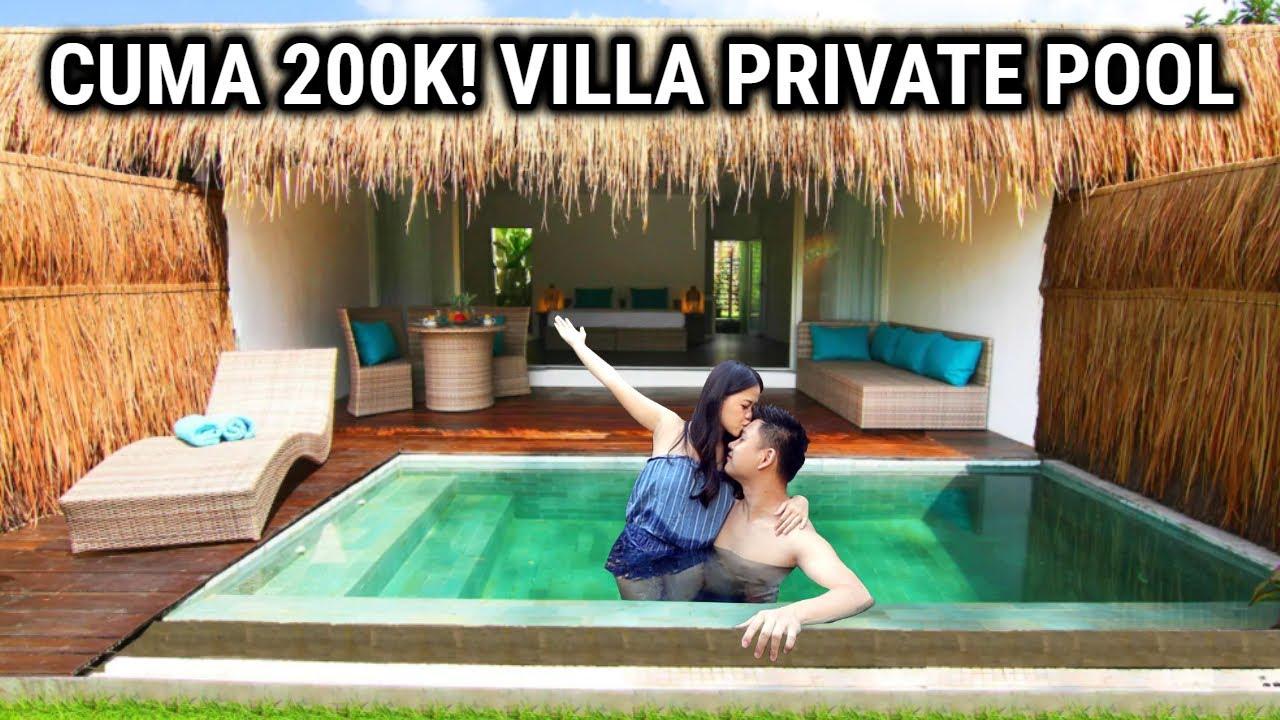 Nemu Villa Private Pool Murah Cuma 200rban Youtube