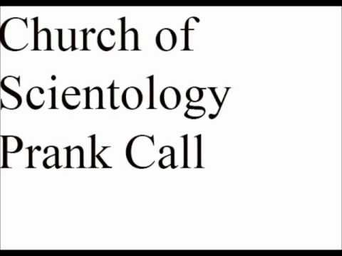 Church of Scientology Prank Call