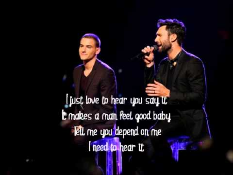 Chris Jamison and Adam Levine-Lost Without U-The Voice 7[Lyrics]