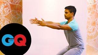 提升性福指數4動作 男人瑜珈課#1|GQ active