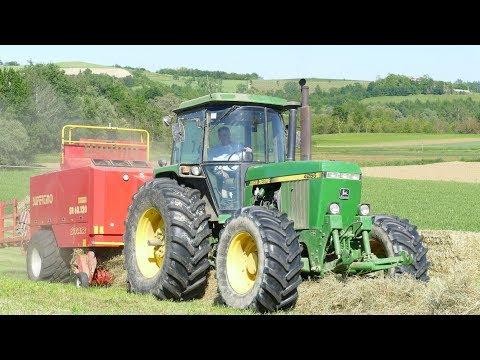 John Deere 4255/6520 | Big Baler Supertino | Carrellone Vanara