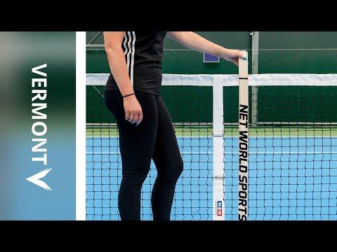 How To: Use Tennis Net Height Gauge | Net World Sports