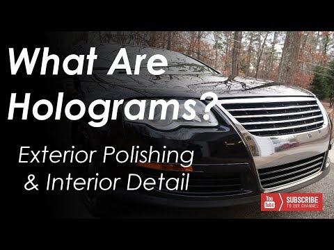 What Are Holograms? Interior and Exterior Detail -- VW Passat