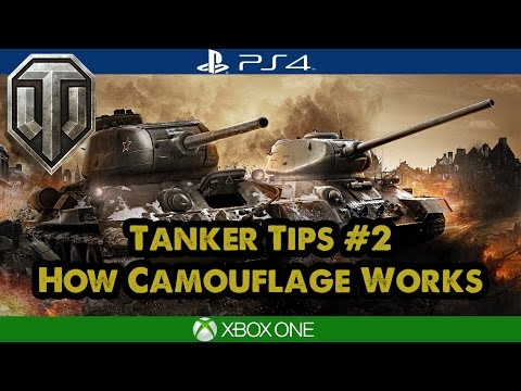 Tanker Tips: How Camouflage Works - World of Tanks Tips Xbox/PS4