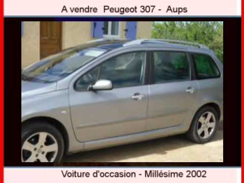 achat vente une voiture occasion peugeot 307 aups var youtube. Black Bedroom Furniture Sets. Home Design Ideas