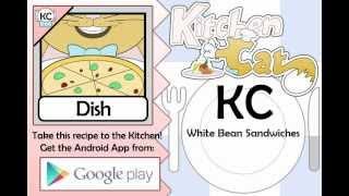 White Bean Sandwiches - Kitchen Cat