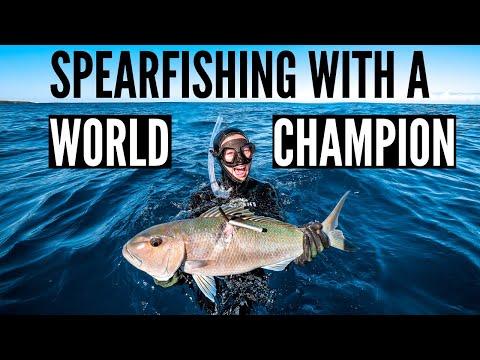 Spearfishing Hawaii With World Champion {Sam's First Uku}