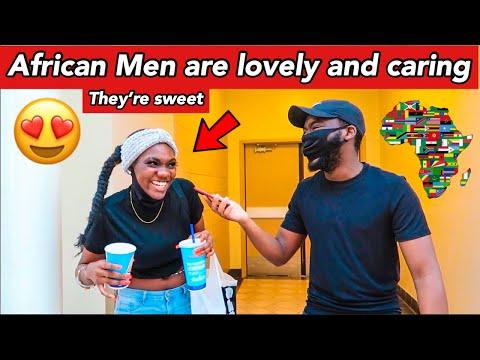 Can African-American Girls Date African Men? Public Interview USA