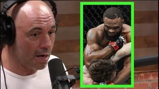 Joe Rogan on Tyron Woodley Beating Darren Till