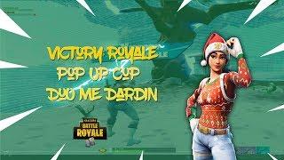 Explorer POP UP Cup Duo w/dardi win / Fortnite