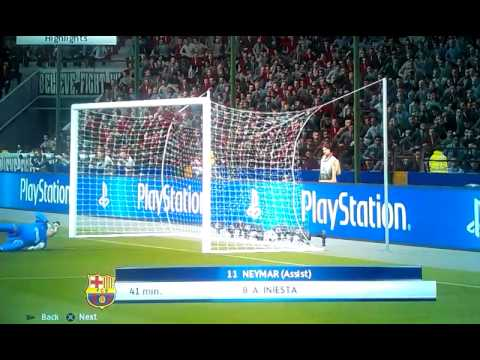My first PES2016 goal. =)