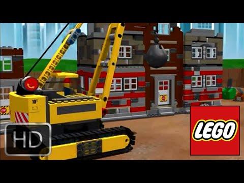 Смотреть мультфильм лего строители