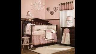 Daniella Crib Bedding Set 8 Piece ; Baby Cradle Bedding, Baby Bedding Sale