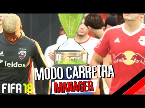 Final da U.S. Open Cup - D.C. United vs NY Red Bulls - Fifa 18 Carreira Manager EP12