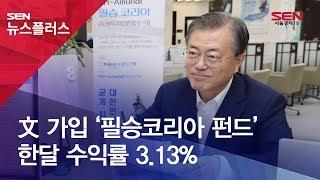 文 가입 '필승코리아 펀드' 한달 수익률 3.13%