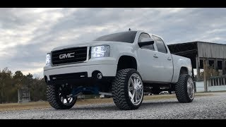 Video HUGE GMC SIERRA ON 26X14 AMERICAN FORCE WHEELS download MP3, 3GP, MP4, WEBM, AVI, FLV Maret 2018