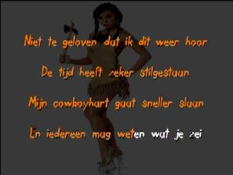 Kom pak je lasso maar - De Dikdakkers (karaoke / singalong )