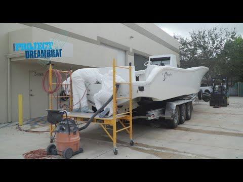 Florida Sportsman Project Dreamboat - 36' Yellowfin Overhaul, 261 Mako Restoration