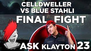 Repeat youtube video Ask Klayton EP.23 - Celldweller vs Blue Stahli - Final Fight