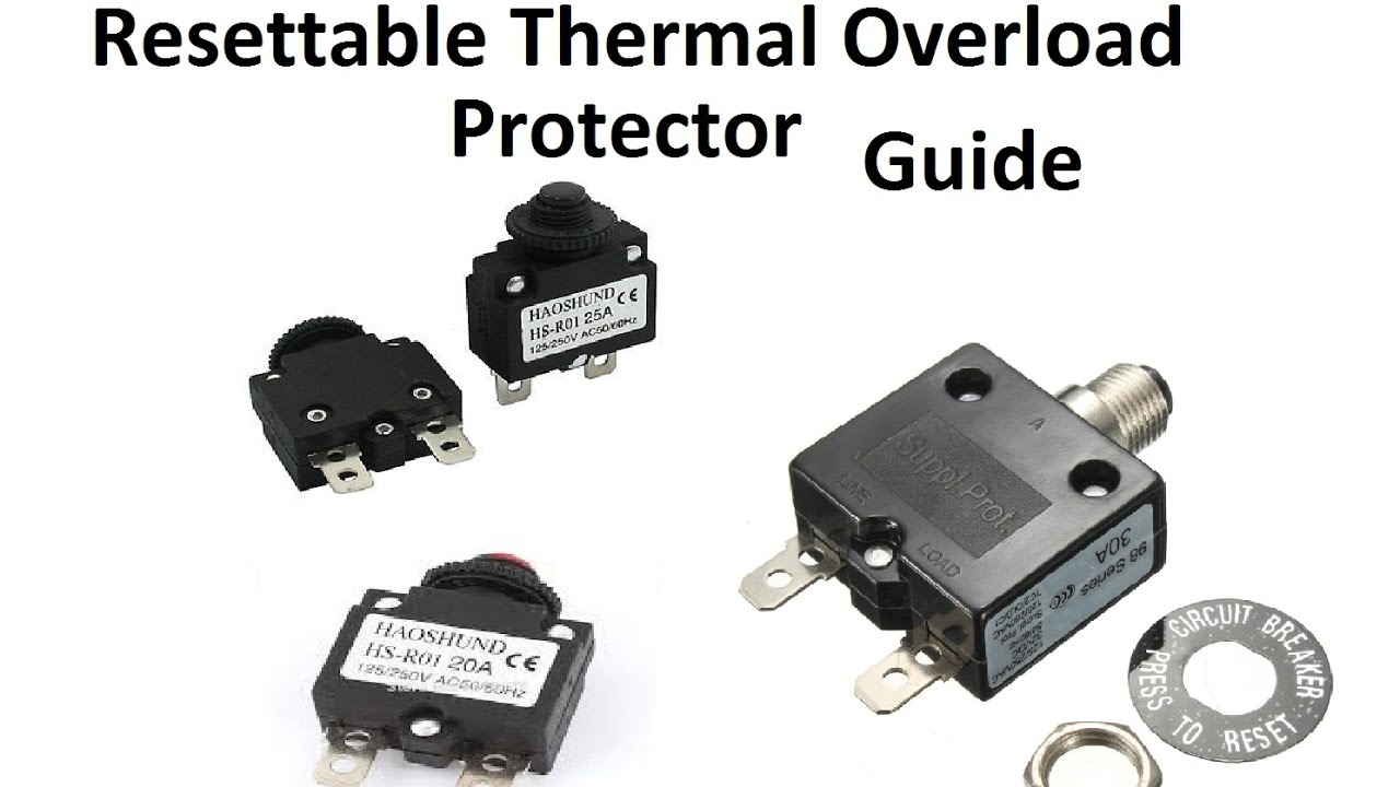 Resettable Thermal Overload Protector Resettable