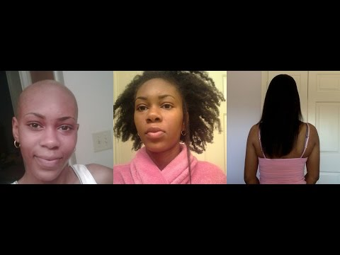 4c Hair | Natural to Relaxed Journey