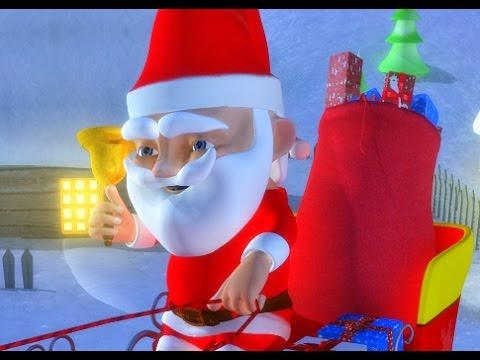 Jingle Bells Jingle Bells | Christmas Carol For Kids With Lyrics | The Tiny Tots