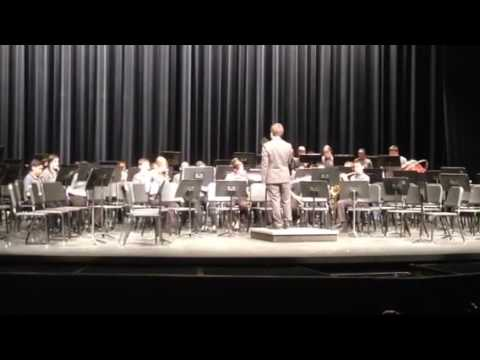 "Connolly Middle School Concert band-2-2017-""Two Scottish Dances"""