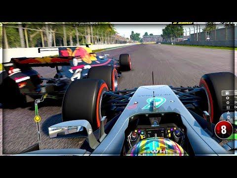 CLOSE CALL WITH VERSTAPPEN - F1 2017 Career Mode Part 138