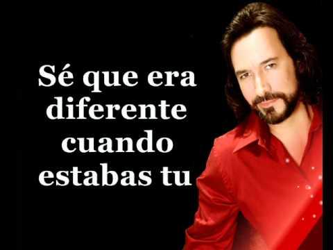Marco Antonio Solis Si No Te Huvieras Ido Karaoke Youtube