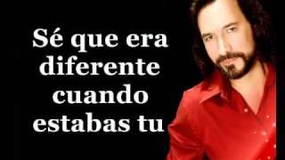 Marco Antonio Solis - Si no te huvieras ido (karaoke)