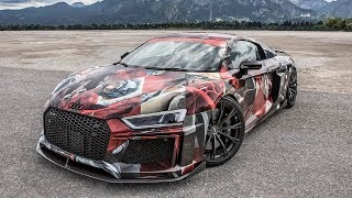 THE MOST INSANE AUDI R8 IN THE WORLD? - The 2018 ART-R8 V10 Plus by ABT Sportsline