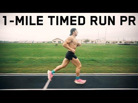 1-MILE RUN PR   5:14 At 194 Pounds