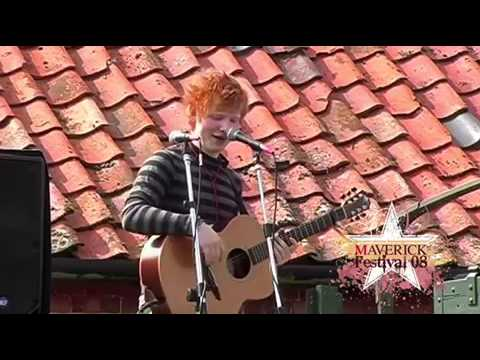 17 year old Ed Sheeran live on truck before the fame