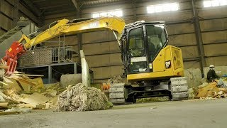 Cat® 308 Cr Mini Excavator Customer Story – Clean Network Japan With Japanese Subtitles